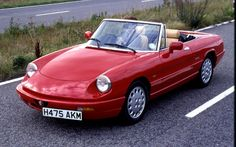 The best-looking Alfa Romeo Spider was the first model, the 'Duetto', produced between 1966 and 1969. After that this fourth-generation car, which was produced from 1990 until 1993, is my favourite