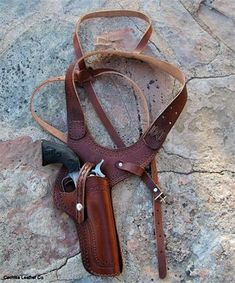 The Pinkerton Shoulder Holster is a concealed weapon gun holster