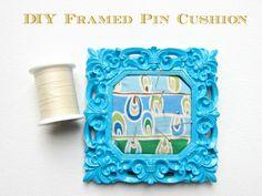 Tutorial:+DIY+Framed+Pin+Cushion