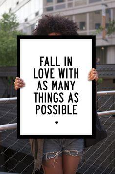 Positive saying