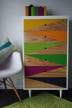4 Happy Tips: Repurposed Furniture Ikea furniture design tv unit. Funky Furniture, Paint Furniture, Repurposed Furniture, Furniture Projects, Furniture Making, Furniture Makeover, Vintage Furniture, Furniture Decor, Furniture Design