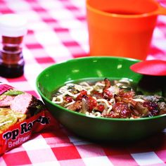 Top Ramen Faux Pho. Everybody loves a good pho … especially campers … because it's so simple and so delicious to make at any campsite. Is it pho or is it faux pho? No one will ever know. #camptopramen