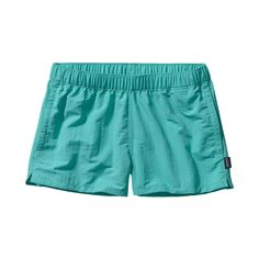Patagonia Women's Barely Baggies™ Shorts have a lower rise and shorter inseam than the originals yet offer the same water-loving feel. Check 'em out.