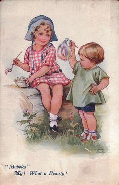Nina K. Brisley postcard | eBay