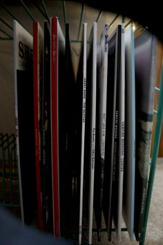 My little vinyl collection. Bon Iver, Vampire Weekend, Of Monsters and Men, The Beatles, Mumford and Sons, Matt and Kim, She and Him
