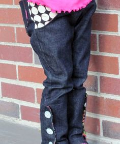 Lovely Rita Skinnies - pants sewing pattern for girls