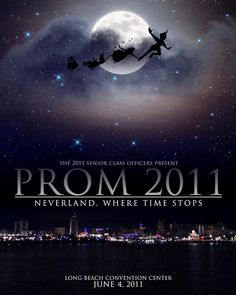 Cheesiest invite ever.... but good idea.. a Neverland Theme