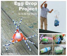 egg drop challenge for kids
