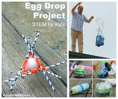 egg drop challenge for kids