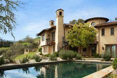 Mediterranean Equestrian Estate, Carmel, California mediterranean-exterior