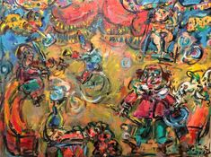 Buy Circus, Oil painting by Erno Toth on Artfinder. See the VamosiArt gallery on Artfinder! More than 670 original paintings and sculptures of Hungarian and slovak artists at the best prices. Paintings directly from artists' studios. Oil Painting On Canvas, Canvas Art, Original Art, Original Paintings, Best Oils, Abstract Expressionism, Surrealism, Buy Art, Modern Art