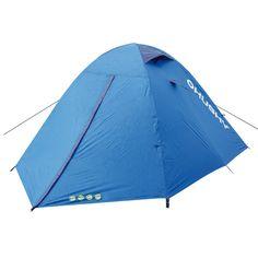 De Husky Bird Tent is een dubbel-shell tent met innerlijke constructie en durawarp palen.
