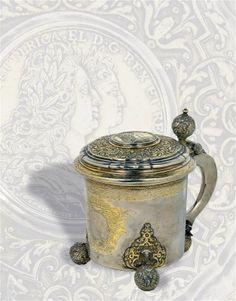 A lidded tankard from Sweden,