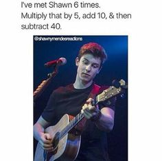 That sucks cuz he's life Minions, Shawn Mendes Memes, Mendes Army, Quotes About Everything, Magcon Boys, Words To Describe, I Love Him, Fangirl, Lol