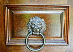 Lionhead Door Knockers