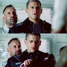 Michael and the 7 Counting the minutes to escape. #PrisonBreak #S1