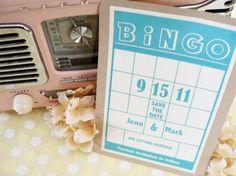 From Bingo cards to Annie Hall: unconventional wedding invitations from Hello Dahlia Wedding Bingo, Circus Wedding, Wedding Games, Circus Party, Wedding Fun, Trendy Wedding, Wedding Planning, Wedding Ideas, Creative Wedding Invitations