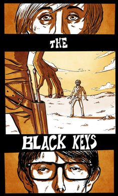 The black keys poster.