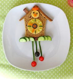 Cuckoo Clock Lunch #kids #foods
