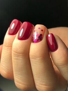 autumn nails Short burgundy nails - - Know All About The Evaporative Co Cute Spring Nails, Cute Nails, Pretty Nails, Pretty Makeup, Acrylic Nails Natural, Natural Nails, Dipped Nails, Burgundy Nails, Yellow Nails