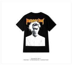 Justin Bieber Purpose Tour Merch Photo T-shirt
