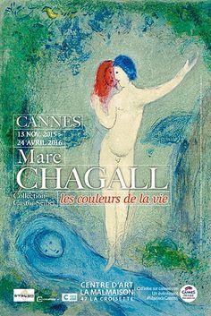Marc Chagall, Les couleurs de la vie, Peinture - Centre d'art La Malmaison, Cannes, France