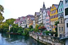 Tubingen ~ South of Stuttgart, Germany.  1990-1992, it's a beautiful city and met many kind people.