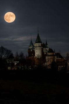 Gothic Castle, Dark Castle, Moon Pictures, Nature Pictures, Over The Moon, Stars And Moon, Gothic Landscape, Luna Moon, Shoot The Moon