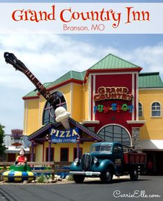 Branson, MO: Grand Country Inn is Designed for Family Fun #ExploreBranson