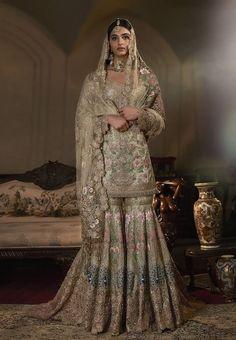 Pakistani Engagement Dresses, Pakistani Bridal Dresses Online, Pakistani Bridal Couture, Latest Bridal Dresses, Asian Bridal Dresses, Pakistani Fashion Party Wear, Pakistani Wedding Outfits, Indian Bridal Outfits, Pakistani Wedding Dresses