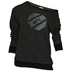 UFC Womens Off Shoulder Slouch Sweatshirt!! Someone buy it for me and I'll love you forever!!