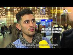 Video van Stichting Vluchteling over Aeham Ahmad en zijn indrukwekkende boek De pianist van Yarmouk