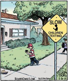 Bizarro comic by Dan Piraro Bizarro Comic, The Funny, Hilarious, Daily Funny, Funny Stuff, Tech Humor, Bus Humor, Smart Humor, Hilarious Stuff