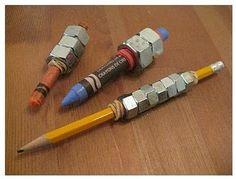 verzwaarde potloden en pennen