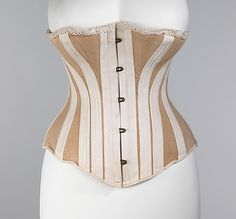 Corset -- you can see the bone placement really well in this one, although it's 1885