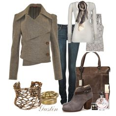 love the jacket and boots...way out of my budget but can probably find similar for less.