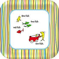 Dr. Suess Theme - Ok for a girl, but good for the adult guys who will be at the shower who may not be into all the girly girly. Plus, I like the One Fish, Two Fish, Red Fish, New Fish since this is their second child (but 1st baby shower)