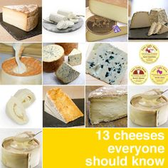 Serious Eats list — 13 cheeses everyone should know