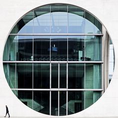 Day 263 - Circles in Berlin by jared leopard photo. Study Architecture, School Architecture, Architecture Details, Serge Najjar, Foto Mirror, Berlin, Doors And Floors, Time To Leave, National Art