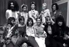 Bowie, Angie, Bianca, Ringo, Jeff Beck, Lulu, Ronno