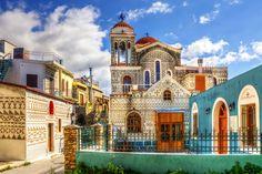 VISIT GREECE| Pirgi #Chios #visitgreece #greece