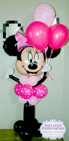 Minnie Mouse Happy Birthday Balloon Bouquet Company Balloons