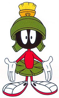 """Marvin the Martian -  """"Where's the kaboom? There was supposed to be an earth-shattering kaboom!"""""""