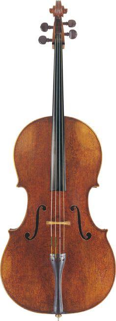Pietro Guarneri 'Of Venice' (1725) A Cello Venice, 1725 Labelled Petrus Guarnerius Cremonensis Filii Josef Venetis Anno 1725 Length of back: 74.9 cm