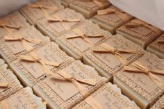 50 Bridal Shower Soap Favors Handcrafted by RusticDesignsByAmie