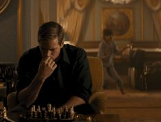 Who's having more fun? (If we were in this gorgeous Italian hotel, we'd be dancing too.)   The Man from U.N.C.L.E.