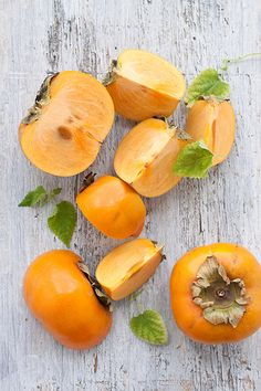 fuyu persimmons (sweet) #foodphotography