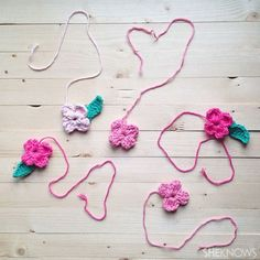Crochet a Mother's Day card
