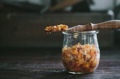 Spring Onion and Sherry Vinegar Jam
