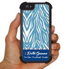 Delta Gamma iPhone 5/5s BruteBoxTM Protective Case - Zebra Print Design VictoryStore http://www.amazon.com/dp/B00IK0NQJO/ref=cm_sw_r_pi_dp_oN37vb1KJKV70